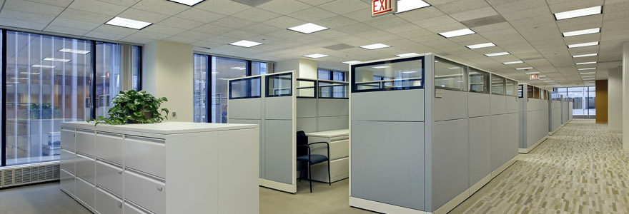 Panneau LED pour bureaux